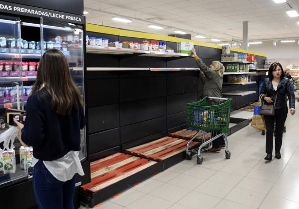 Coronavirus: Why there is no need to be panic buying in Spain