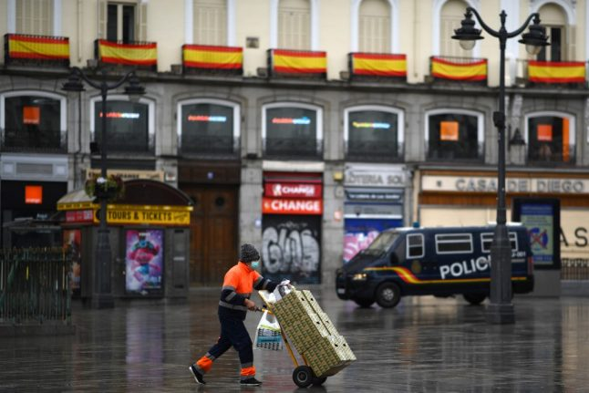 Spain's coronavirus death toll passes 8,000 after new one-day record