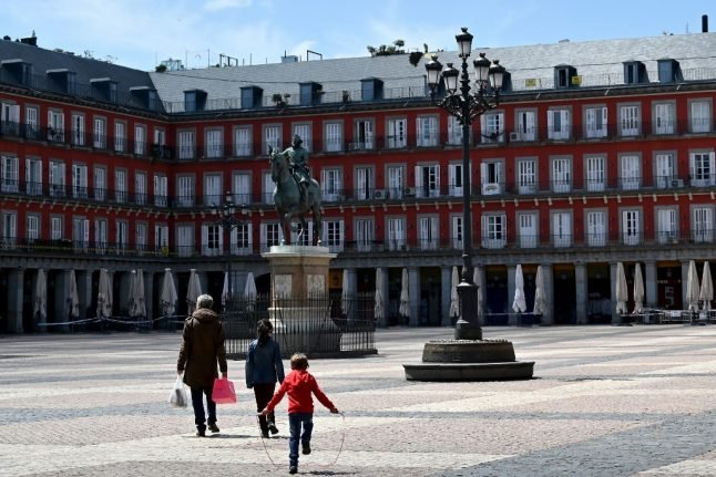 Spanish economy shrinks by fastest rate on record