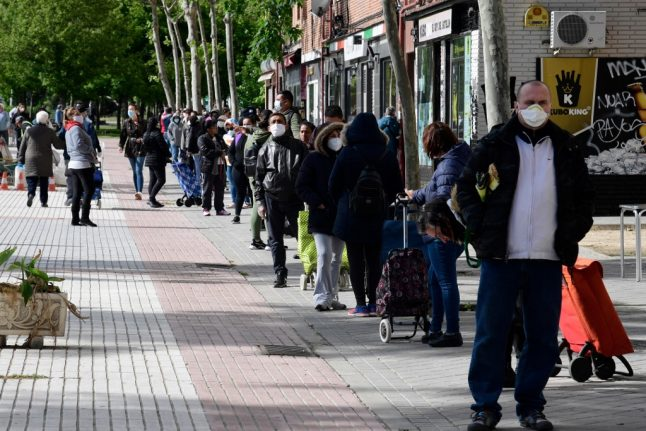 Why food aid queues are growing so fast during Spain's coronavirus crisis