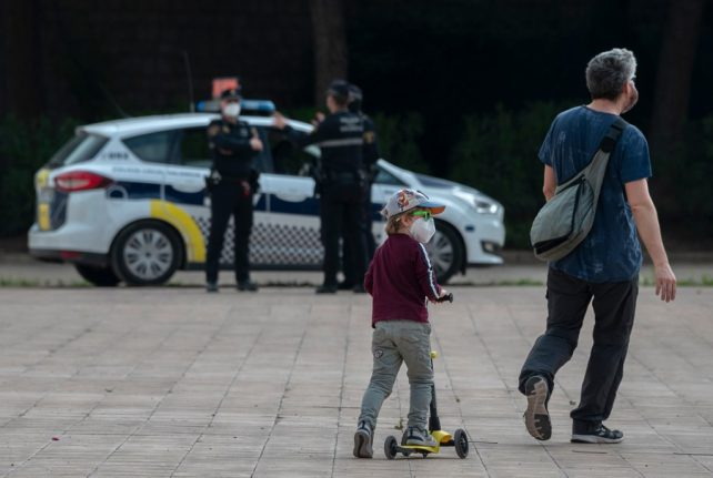 Police issue 35,000 fines as Spain embraces 'freedom' after 48 days of lockdown