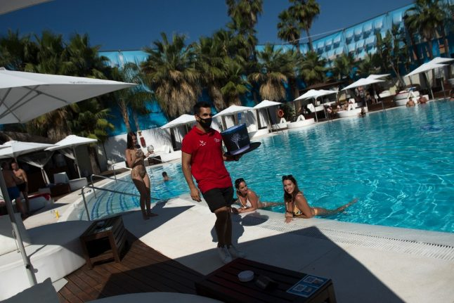 Spain to open swimming pools and shopping malls from Monday June 1st