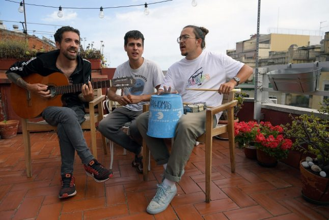 Stay Homas: How lockdown brought stardom to three play-at-home musicians in Spain