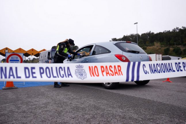 How Spain's rules about car travel during lockdown have changed