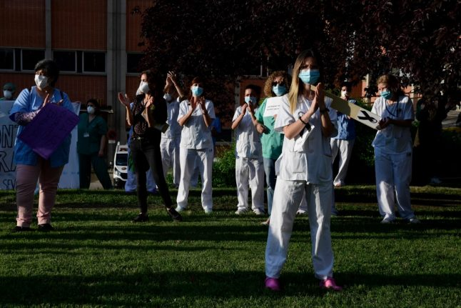 Spain revises its coronavirus death toll by nearly 2,000 cases