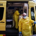 IN PICTURES: What life is like for ambulance teams during coronavirus crisis in Spain