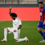 Black Lives Matter: Marcelo 'takes the knee' to celebrate Real Madrid win