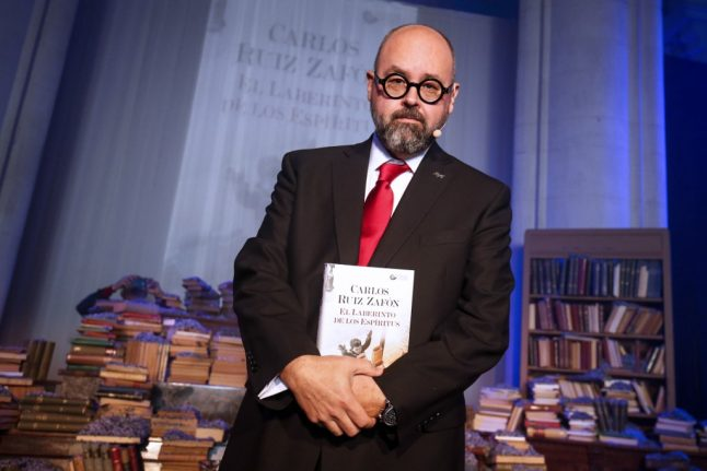 Tributes flood in for Spain's 'Shadow of the Wind' author Carlos Ruiz Zafón, dead age 55