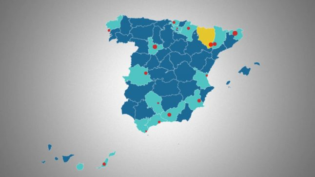 UPDATED MAP: Where are the new Covid-19 outbreaks in Spain?