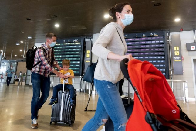 Spain 'imports' 104 Covid-19 cases from overseas despite travel restrictions