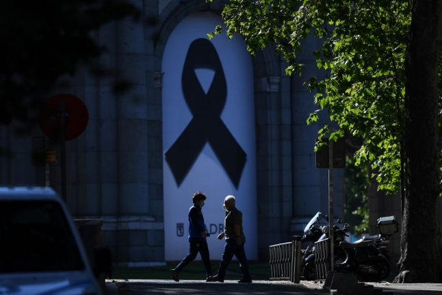Spain to stage official state victims' memorial to honour coronavirus dead