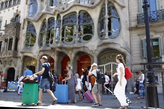 How important are American tourists to Spain?