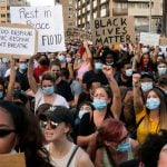 IN PICS: Spain protests in BLM solidarity over George Floyd death