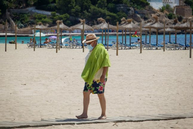 Spain's Andalusia to make masks mandatory even at beaches and swimming pools