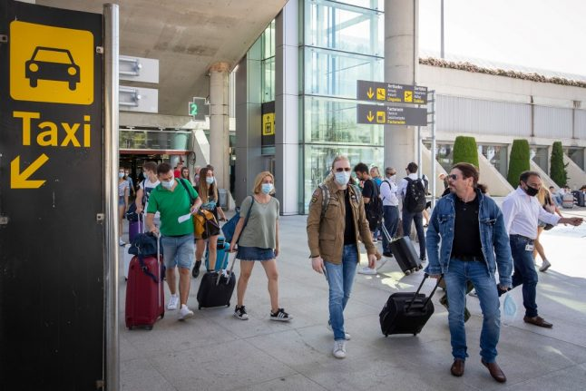Most French, Germans and Spanish prefer British and American tourists to stay away, poll suggests