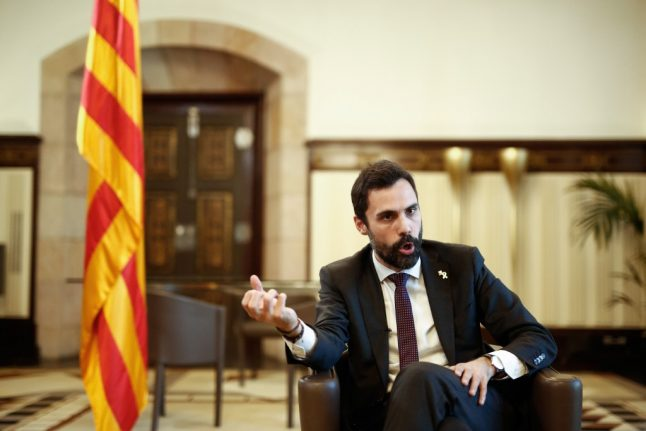 Catalan Speaker of the House accuses Spain of 'political spying'