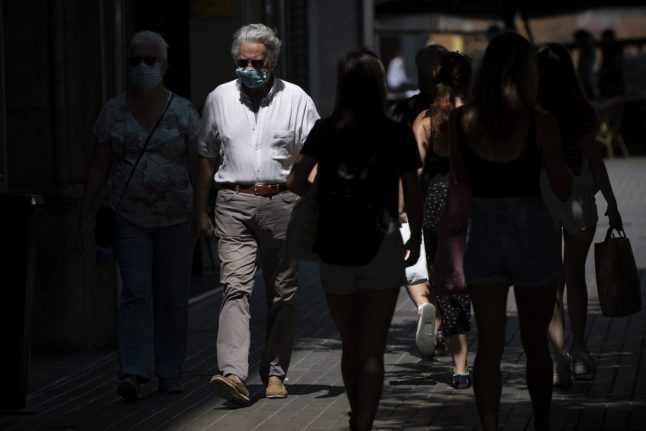 Spain records highest daily rise in Covid-19 infections in two and a half months