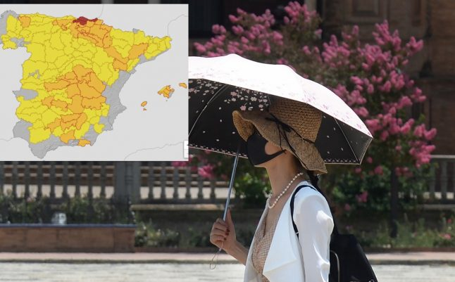 First summer heatwave hits Spain with 40C in northern regions
