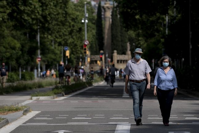 Barcelona residents urged to stay home after rise in Covid-19 cases