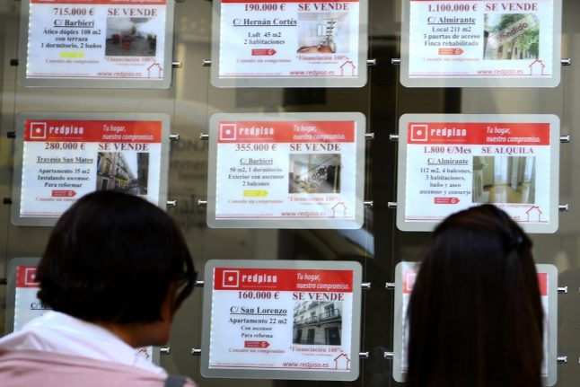 Fall in Spanish property prices set to accelerate