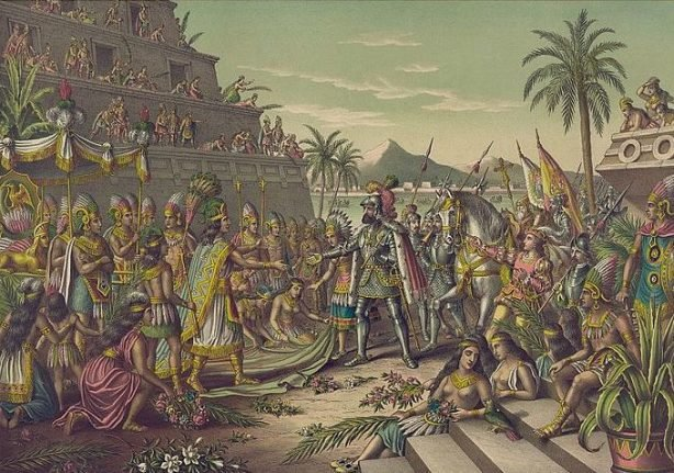 Ancient Aztec palace Spanish conquistador Cortés made his home found in Mexico