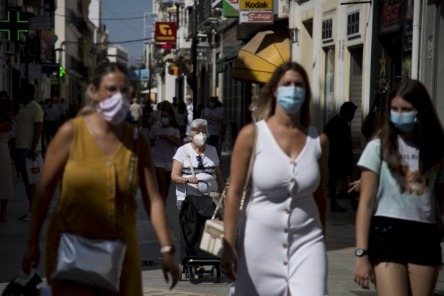 Spain's daily Covid-19 cases shoot up to rates of early days of pandemic