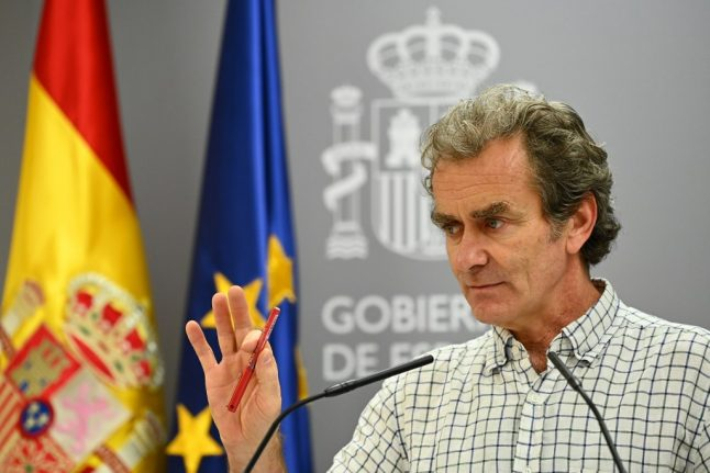'Things are not going well' warns Spain's chief epidemiologist