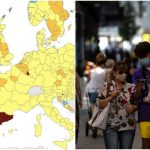 Does the Spanish region of Aragón have the highest Covid-19 infection rate in Europe?