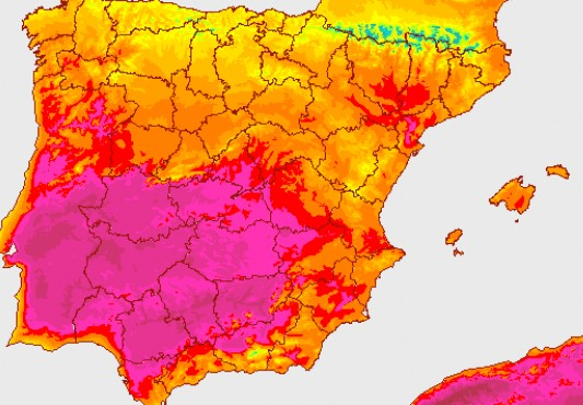 Heat warnings issued across Spain as nation sizzles