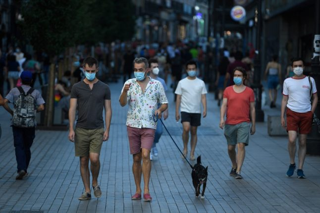 Spain's Covid-19 infections quadrupled in July but deaths remain low