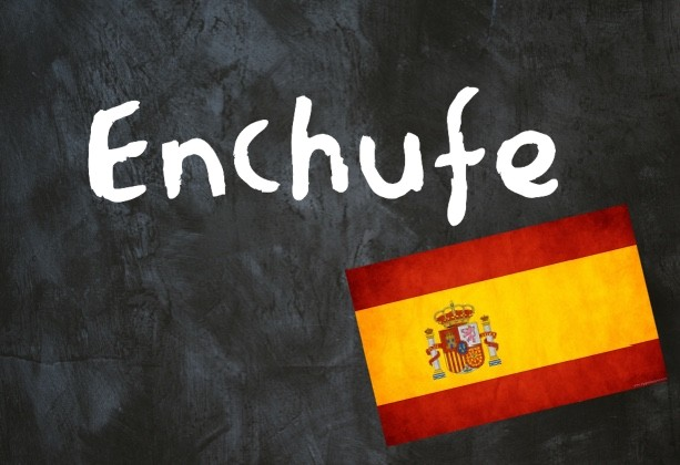 Spanish word of the day: 'Enchufe'