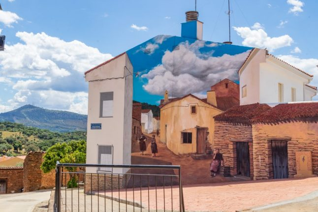 IN PICS: The sleepy Spanish town where nothing is quite as it seems