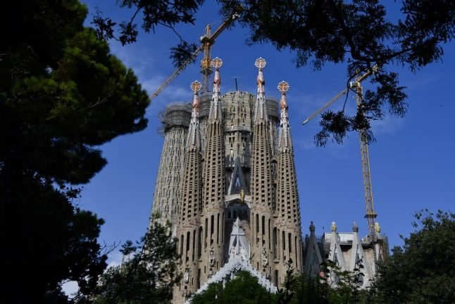 Pandemic to delay completion date for Barcelona's Sagrada Familia