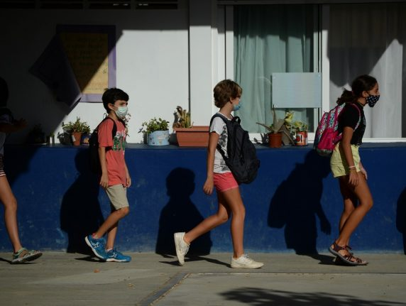 School in northern Spain becomes first to close after teachers test Covid-19 positve