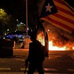 IN PICS: 16 arrested in Catalan referendum anniversary protests