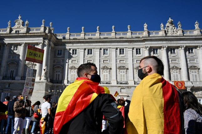 IN PICS: Spain hit by anti-government protests by far-right