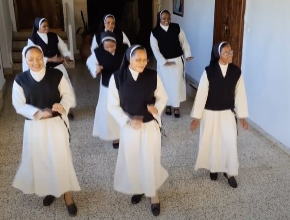 VIDEO: Watch cloistered nuns in Spain dance viral challenge