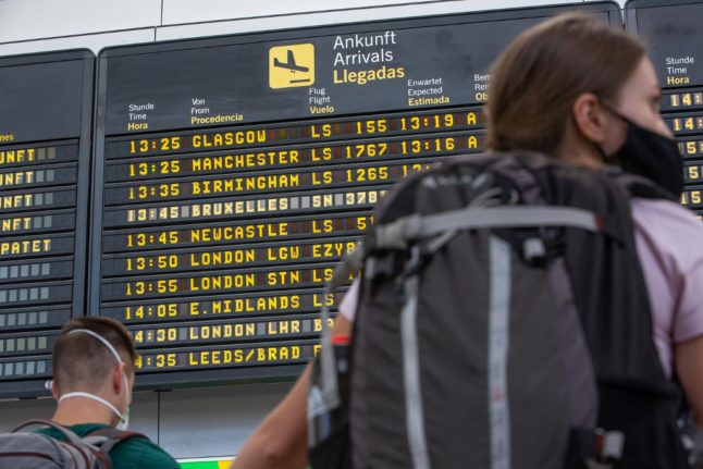 UPDATE: What are the new rules on travelling between Spain and the UK?