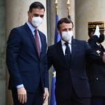 Spain's PM in quarantine after Macron tests positive