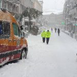 Madrid hospitals inundated with snow and ice injuries