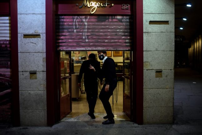 'No guests at home': Madrid tightens restrictions with new curfew and more confined zones