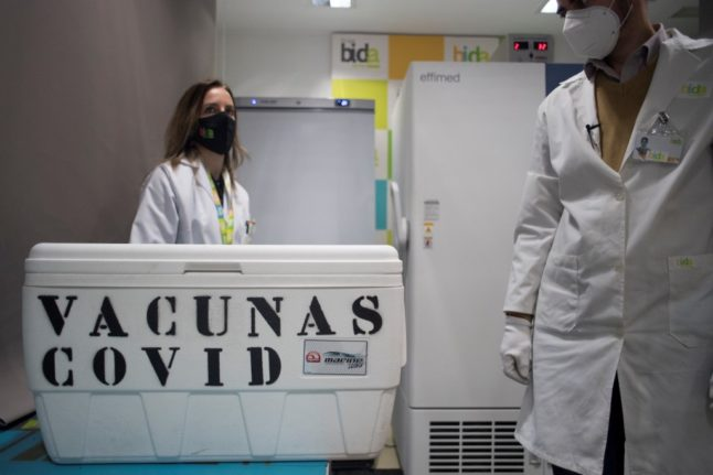 Why Madrid authorities have suspended Covid vaccination programme