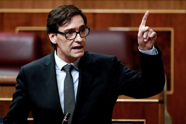 Spain's Health Minister quits in order to run for regional Catalan elections