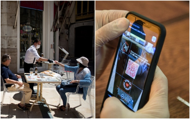 Is this the future of bar culture in Spain? One region now requires QR code to be served