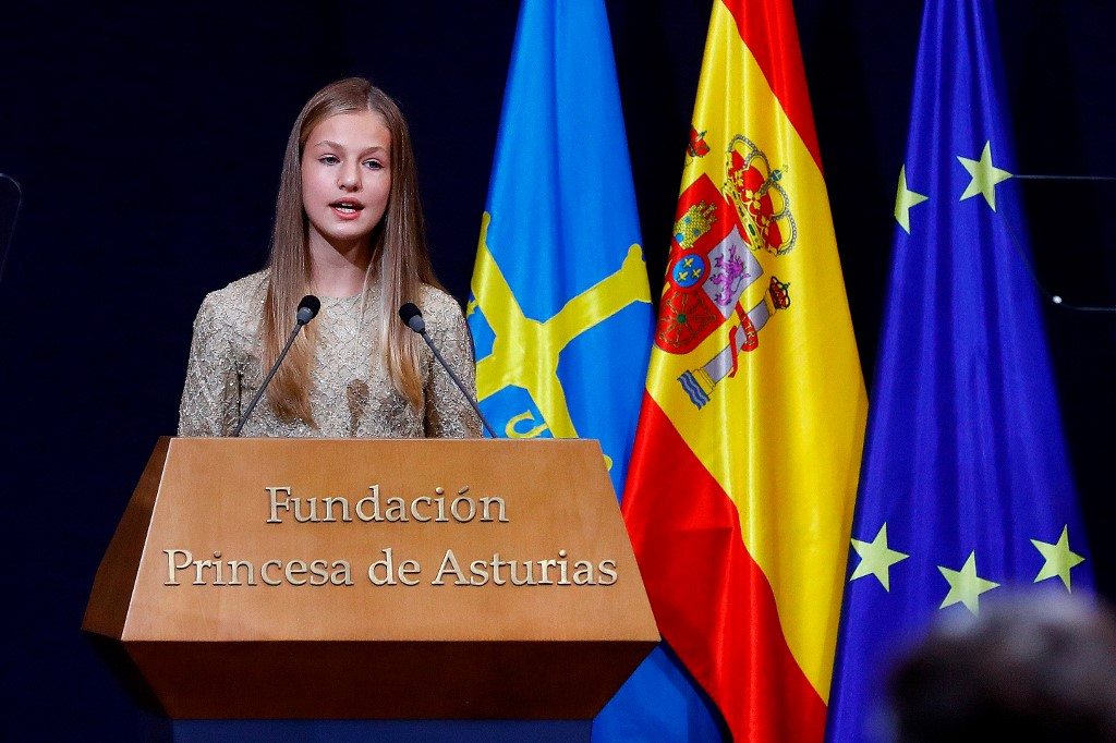Princess Leonor, Spain's future queen, to attend boarding school in Wales