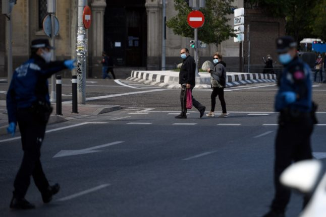 Madrid extends Covid restrictions with 27 percent of population now in confined zones
