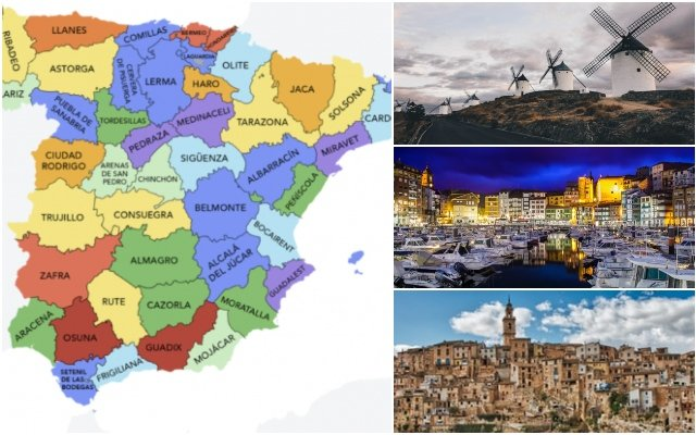MAP: The 50 most popular 'pueblos' to visit in Spain
