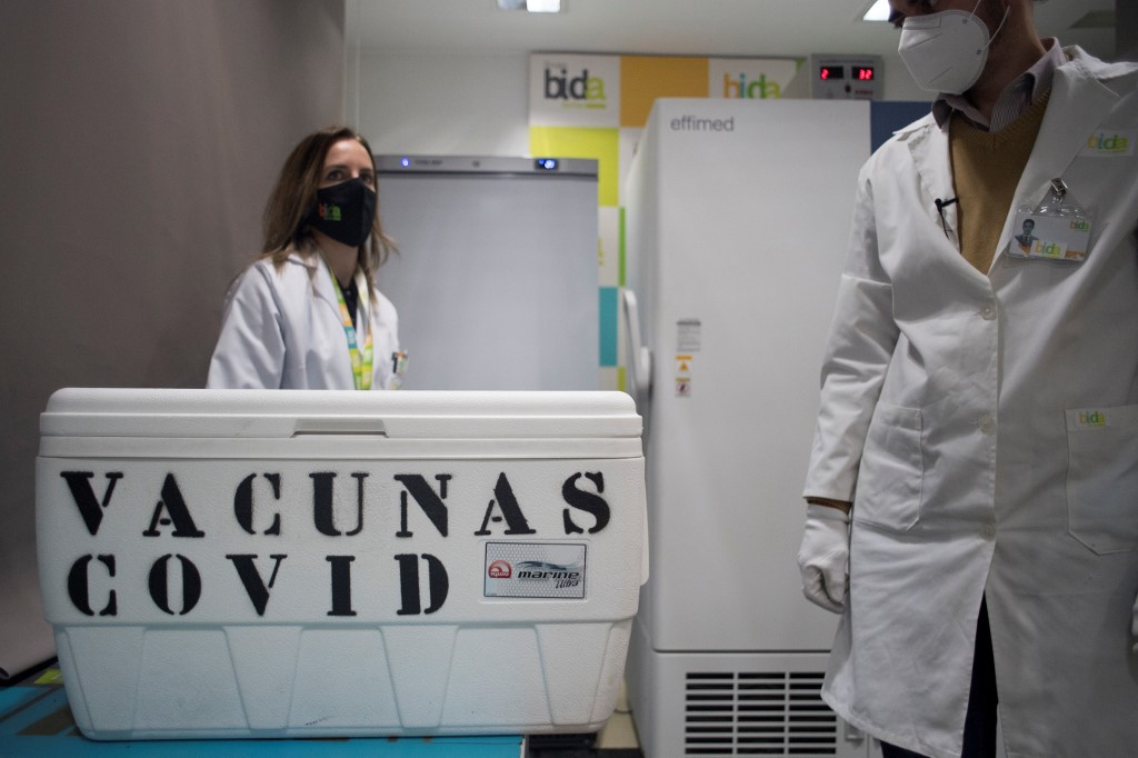 Can I choose which Covid-19 vaccine I get in Spain?