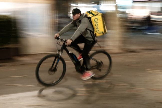 Fined: Spanish night owl who skipped curfew by pretending to be delivery rider