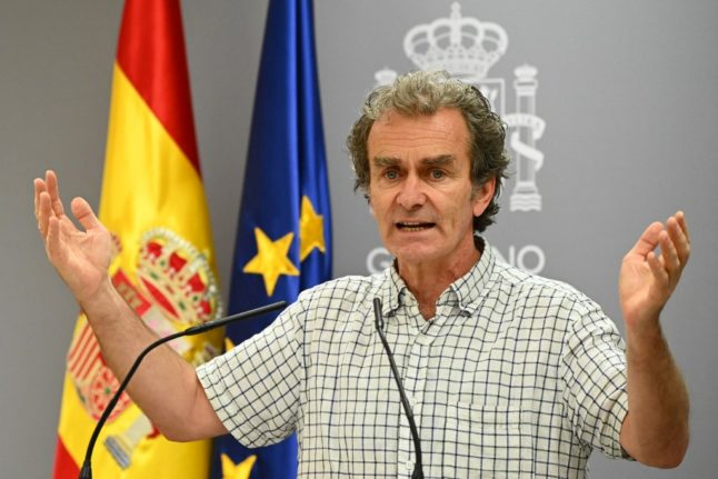 'It doesn't add up – foreigners can visit Spain but Spaniards can't move', health chief